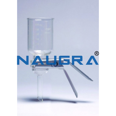 Naugra Lab Membrane Filter Holder All Glass
