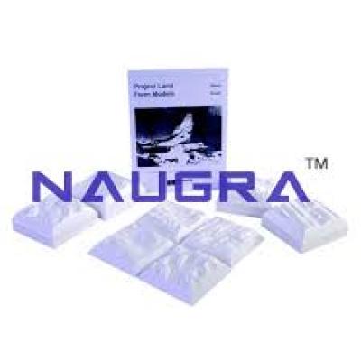 Naugra Miniature Landform Models Set