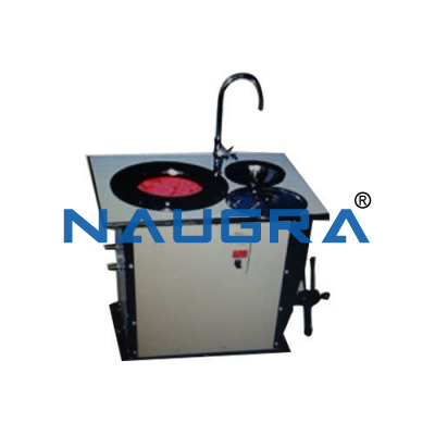 Naugra Speed Regulated Polishing Machine