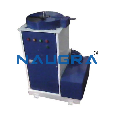 Naugra Spectro Double Polisher Machine