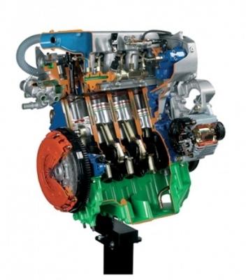 Radial Engine Cutaway