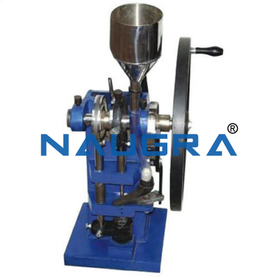 Naugra Lab Tablet Making Machine Hand Operated