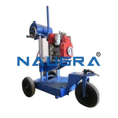 Core Drilling Machine (Diesel Engine Model)