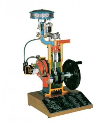 4-stroke Petrol Engine Model Cutaway