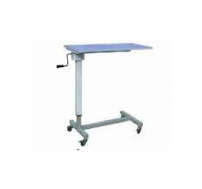 Overbed Bedside Table Adjustable 2 Section