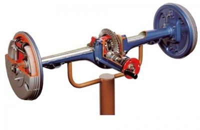 Rigid Rear Axle Cutaway