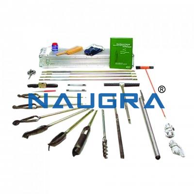 Auger Set for Heterogeneous Soils