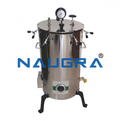 Naugra Lab Autoclave Vertical
