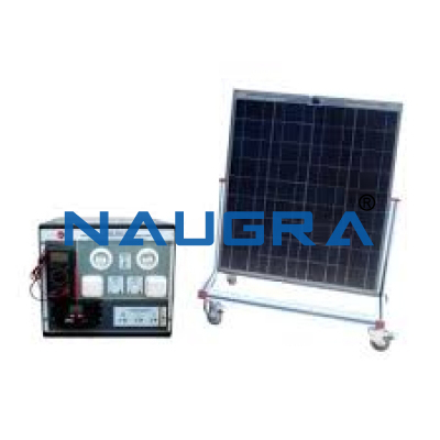 Solar Cell Properties Testing Device