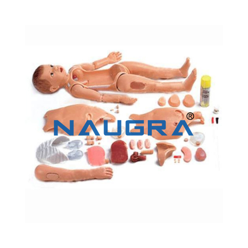 Multi-Functional Child Nursing Manikin