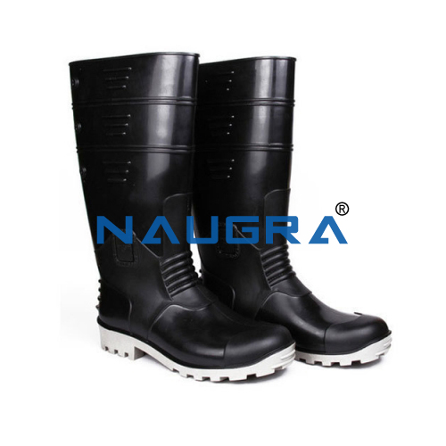 Polyvinyl Chloride (PVC) Sole Gum Boot W-O Steel Toe