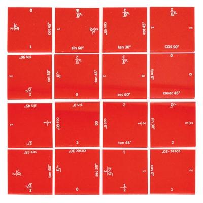 Trigonometry Puzzle Type 2 Higher Secondary Kit