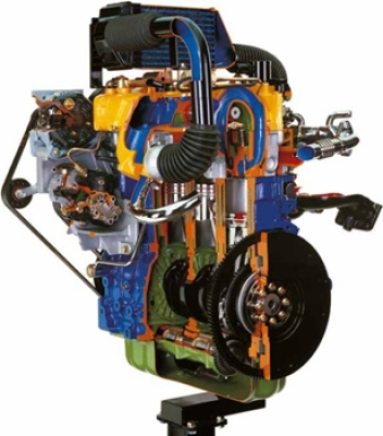 Common Rail Turbo Diesel Engine Chrysler JEEP Cutaway