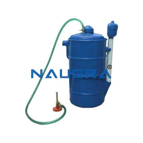 Educational Lab Bio Gas Plant Model