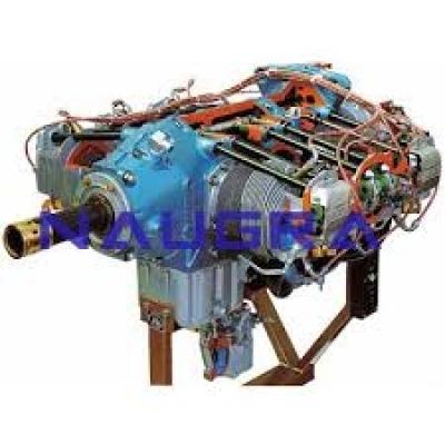 Aeronautics Engines Cutaway for Automotive Lab