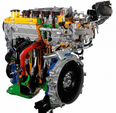 Direct Fuel Injection Petrol Engine TSI-FSI VW/Audi Cutaway