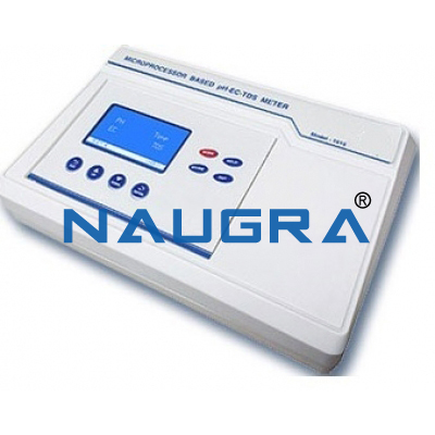 Naugra Lab Microprocessor pH-EC-TDS Meter