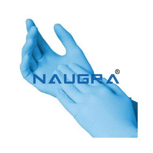 Nitrile Powder Free Examination Gloves, Finger Textured, 2.2 mil (3.0g)